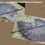 Perbezaan Gaji Bekerja Di Singapura